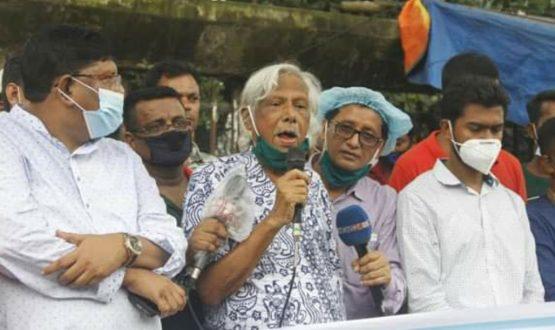 ভারতের বিরুদ্ধে সোচ্চার না হলে বাংলাদেশের মুক্তি নেই: জাফরুল্লাহ